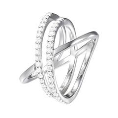 Ring 925er Silber mit Zirkonia