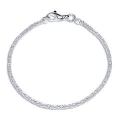 925 Silberarmband: Königsarmband Silber 2mm