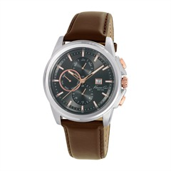 Kenneth Cole Herrenchronograph Leder KC10025916