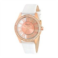 Transparency  Kenneth Cole Damenuhr rosé weiß KC2728