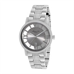 Herrenuhr Transparency Kenneth Cole silber KC9315