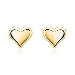 Ohrstecker für Kinder 333er Gold Herz