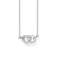 Herzkette Together aus 925er Silber