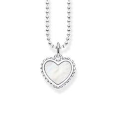 Herzkette aus Sterlingsilber