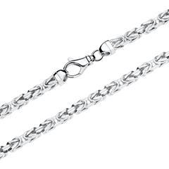 Königskette für Herren aus Sterlingsilber, 50 mm