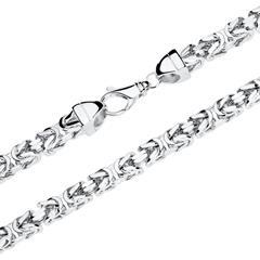 Herren Königskette aus 925er Silber, 70 mm