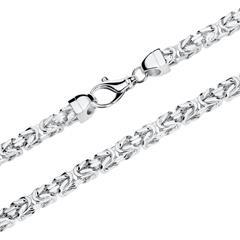 925er Silber Königskette für Herren, 75 mm
