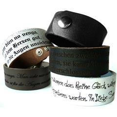 Armband Rindeder inklusive Lasergravur
