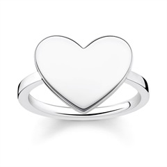 Herz Ring Sterlingsilber