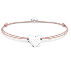 Armband Herz Infinity