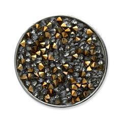 Münze für Münzanhänger gold grau