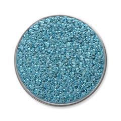 Münze für Münzanhänger Aquamarin
