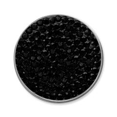 Münze für Münzanhänger schwarz