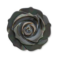Einsatz Münzanhänger Blütendesign