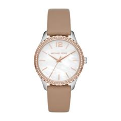 Layton Watch For Ladies With Brown Leather Strap
