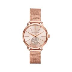 Uhr für Damen Edelstahl roségold