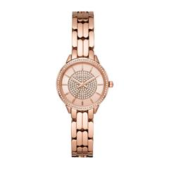 Ladies watch Mini Madelyn made of rosé gold plated stainless steel