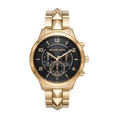 Uhr Runway Mercer für Damen aus Edelstahl, vergoldet