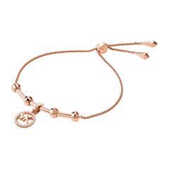 Damen Armband aus Sterlingsilber, rosévergoldet