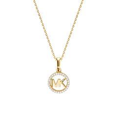 Damenkette aus vergoldetem 925er Silber mit Zirkonia