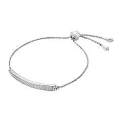 925er Silber Armband für Damen mit Zirkonia, gravierbar