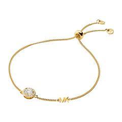 Damen Armband aus vergoldetem 925er Silber mit Zirkonia