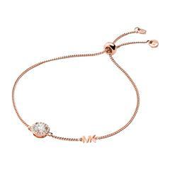 Armband für Damen aus 925er Silber, rosé mit Zirkonia