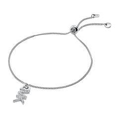 Armband für Damen aus 925er Silber mit Zirkonia