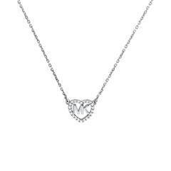 925er Silberkette für Damen aus Sterlingsilber Zirkonia