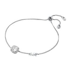 Bracelet For Ladies In Sterling Silver With Zirconia