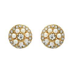 Statementohrstecker Perlen Steine Modeschmuck