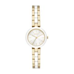 Ladies Watch Made Of Gold-Plated Stainless Steel And Ceramic