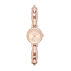 Watch for ladies in rose gold plated stainless steel