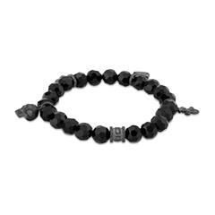 Armband Rebel Charm für Herren mit Glas Beads