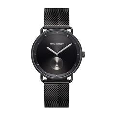 Schwarze Armbanduhr Breakwater für Herren