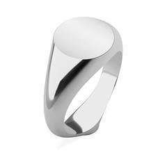 Signet Ring für Damen aus Edelstahl gravierbar