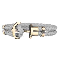 Phrep Leder Armband Grau