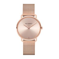 Ladies watch Miss Ocean Sunray with mesh band, rosé