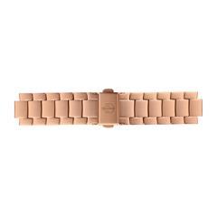 Uhrenarmband Edelstahl Roségold 16 mm Bandanschluss