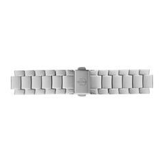 Uhrenarmband Edelstahl Silber 16 mm Bandanschluss