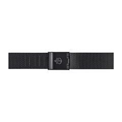 Uhrenarmband Mesh Schwarz 12 mm Bandanschluss