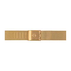 Uhrenarmband Mesh Gold 12 mm Bandanschluss