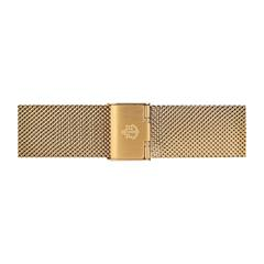Milanaise Uhrenband vergoldet