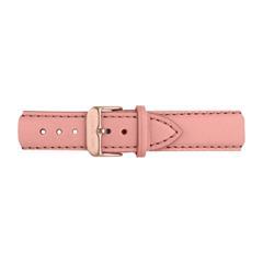 Uhrenarmband Leder Pink Rosé 20 mm Bandanschluss