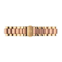 Uhrenarmband Edelstahl Rosé/Gold 16 mm Bandanschluss