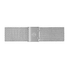 Uhrenarmband Mesh Silber 20 mm Bandanschluss