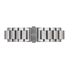 Uhrenarmband Edelstahl Silber 20 mm Bandanschluss