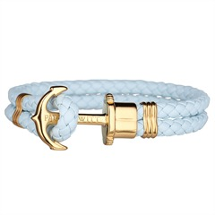 Paul Hewitt Phrep Armband blue sky gold PH-L-G-Bs