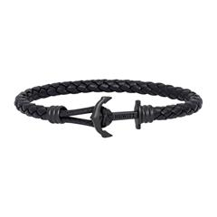 Phrep Lite Armband aus schwarzem Leder