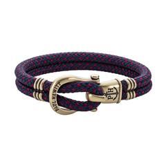 Phinity Armband für Herren aus Nylon und Messing